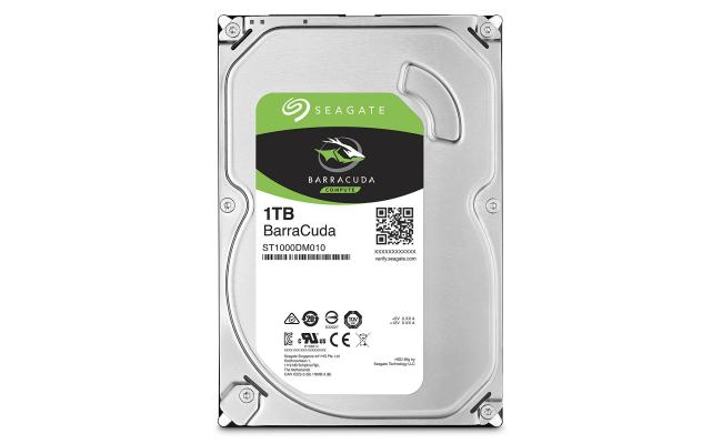 "Seagate BarraCuda Hard Drive 3.5""  1TB"