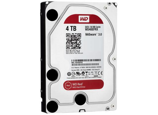 WD 4TB Red 5400 rpm SATA III 3.5""
