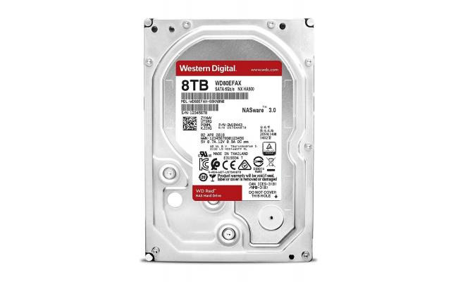 WD 8TB Red 5400 rpm SATA III 3.5""