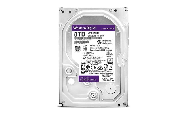 WD PURPLE SURVEILLANCE HARD DRIVE 8TB