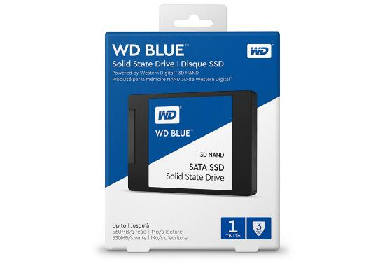 "WD BLUE 3D NAND 2.5"" Internal SSD 1TB"
