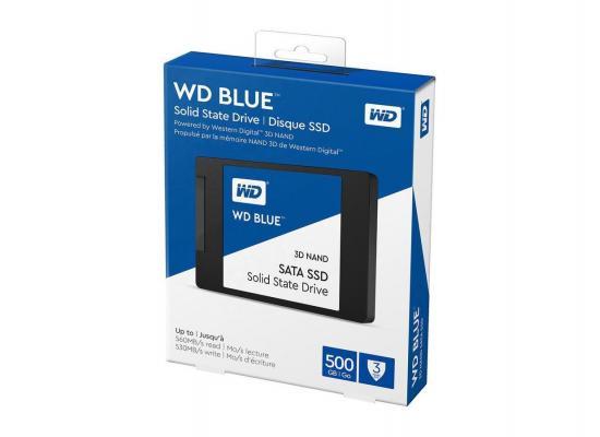 """WD BLUE 3D NAND 2.5"""" Internal SSD 500GB"""