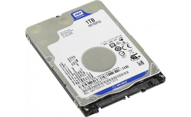 "WD Blue 2.5"" hard drive - 1 TB"