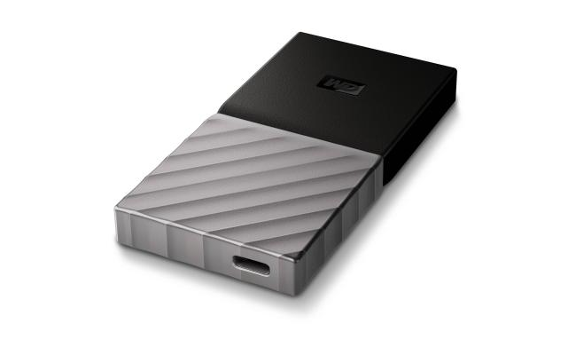 WD My Passport Silver 256GB SSD
