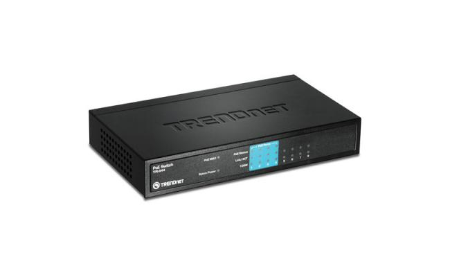 Trendnet 8-Port 10/100Mbps PoE Switch s44