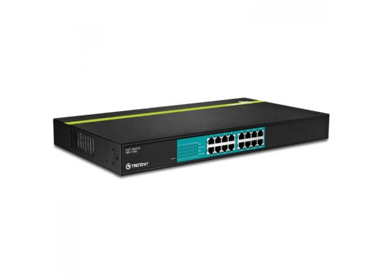Trendnet 16-Port 10/100Mbps PoE+ Switch