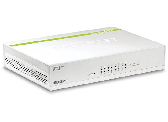 Trendnet Gigabit 16 Port Switch Green