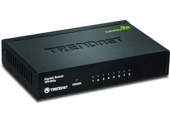 Trendnet Gigabit 8 Port Switch Green