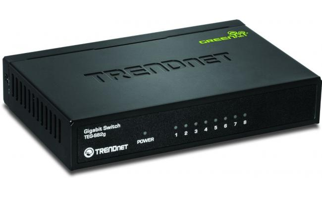 Trendnet Gigabit 8 Port Switch Green