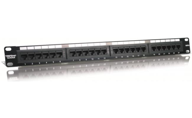 TRENDNET PATCH PANEL 24PORT CAT6 P24C6
