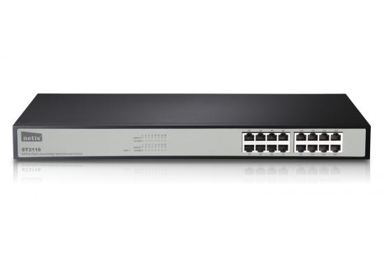 Netis ST3116 16 Ports Rackmount Fast Ethernet Switch