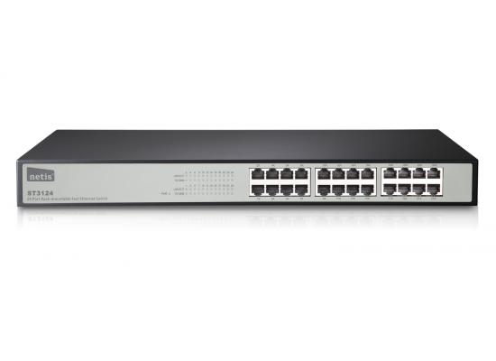 Netis ST3124 24 Ports Rackmount Fast Ethernet Switch