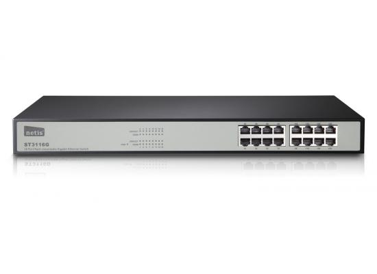 Netis ST3116G 16 Ports Rackmount Gigabit Ethernet Switch