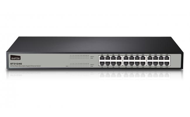 Netis ST3124G 24 Ports Rackmount Gigabit Ethernet Switch