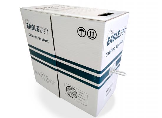 EAGLENET Installation Network Cable F/UTP 1000ft CAT6 23 AWG